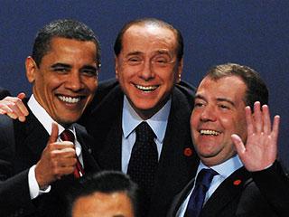politici sorridenti
