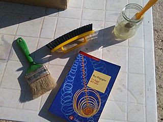 Gli strumenti del restauratore di libri