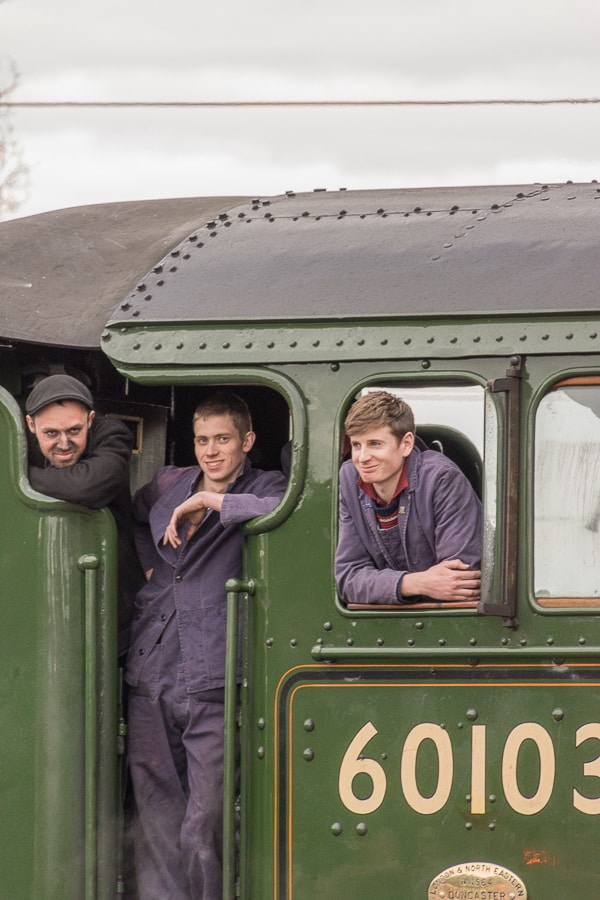 Flying Scotsman Crew