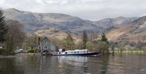 This steam launch sails up, tours round Lake Coniston during the summer months.