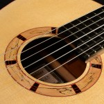 Classical Guitar by David Finck -- Rosette