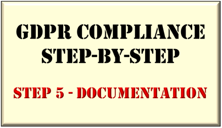 GDPR Step-by-Step - Documentation