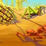 De krekel en de mier