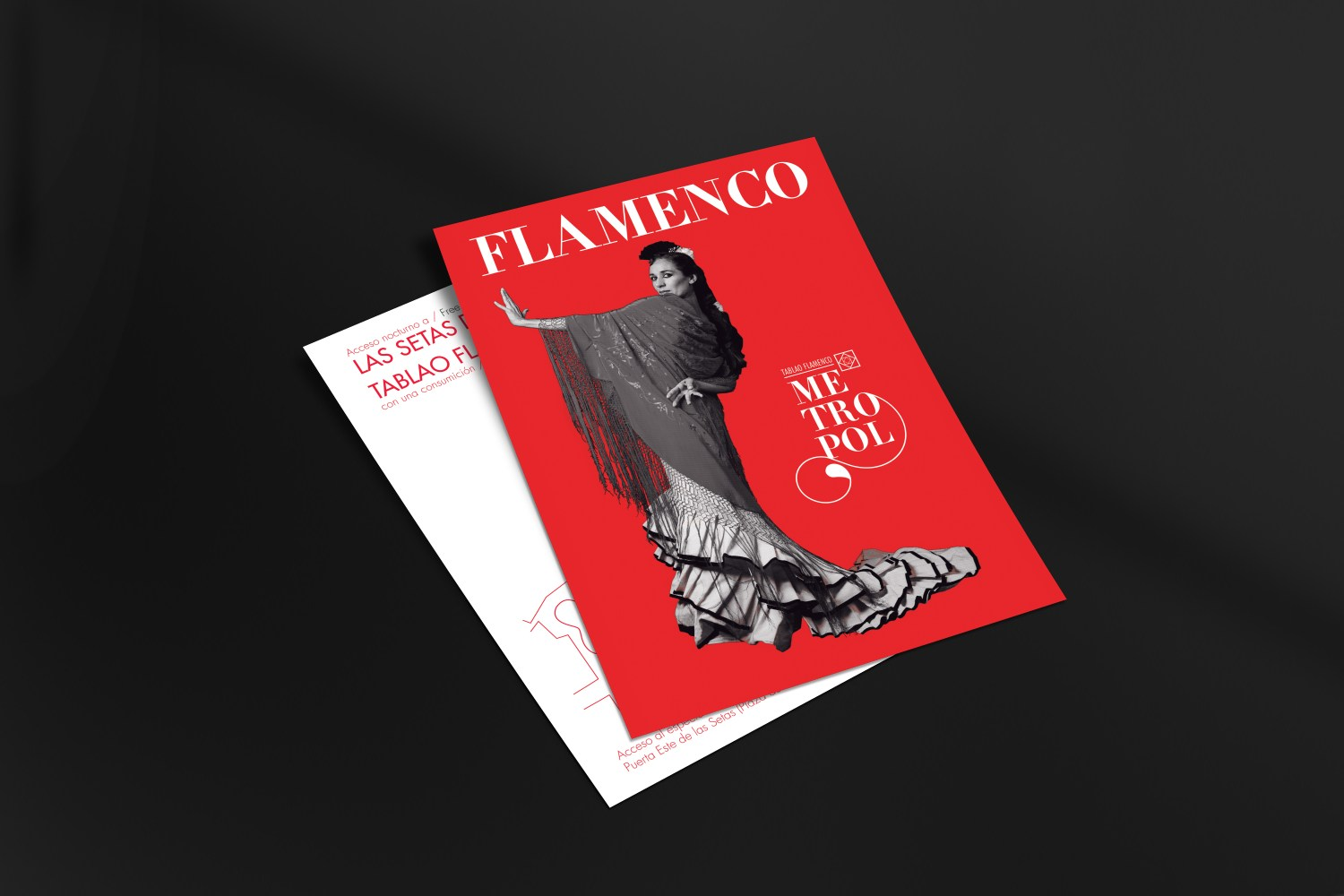 TABLAO FLAMENCO METROPOL _ Poster Design - David Guillén