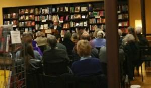 David Halperin presenting at a book event