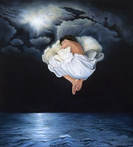"Lynn Randolph, ""Nocturnal Clouds"" (2005)."