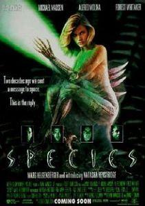 "Natasha Henstridge in ""Species"" (1995)."