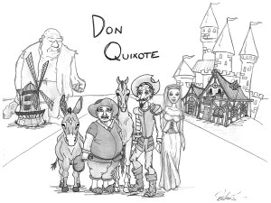 "Amelia Richards, ""Don Quixote"" (2013). Used with permission of the artist."
