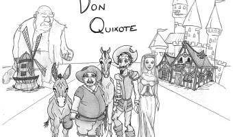 """Don Quixote"" and ""Journal of a UFO Investigator"" – The Art of Amelia Richards"