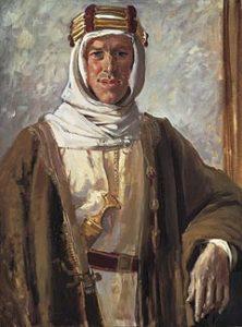Lawrence of Arabia, by Augustus John (1919).