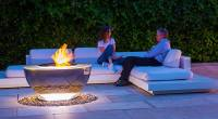 Fire Pit and Water Feature | David Harber