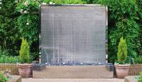 Wall Water Feature: the Petal Wall. David Harber, UK
