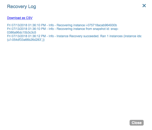 Disaster Recovery across regions in AWS