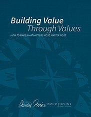 building-value-through-values