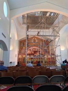 Church…under construction