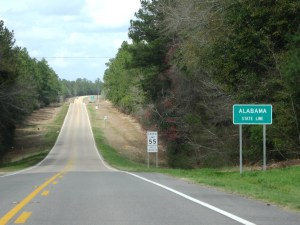 Exactly how wide is a state line?