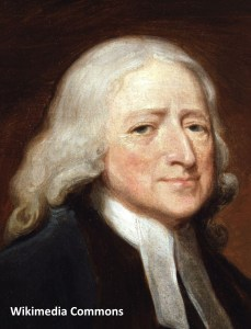 John Wesley and his beautiful locks!