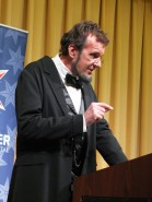 George Buss as Abraham Lincoln
