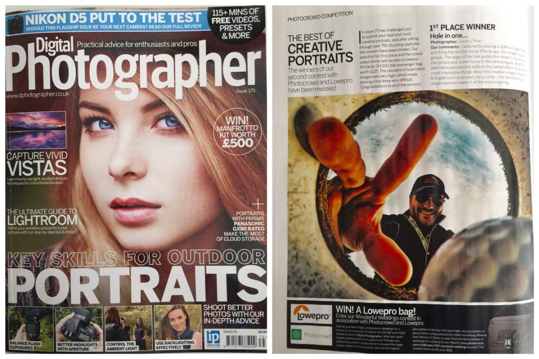 David J Prior featured in Digital Photographer Magazine