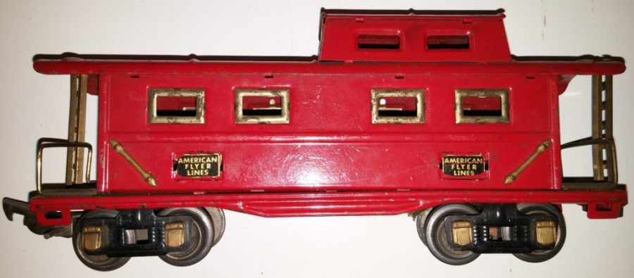 Red Caboose - American Flyer