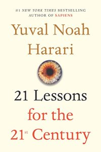 21 Lessons for the 21st Century. Books. Reading.