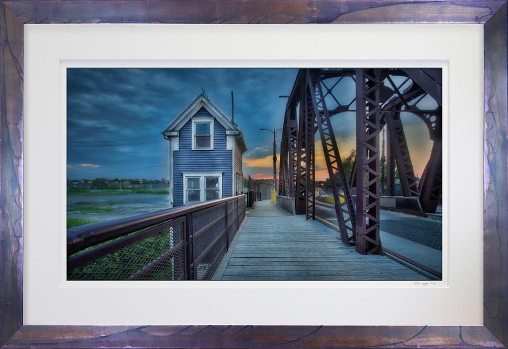 Framed Cortland St Bridge