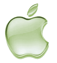 Apple Logo - Green