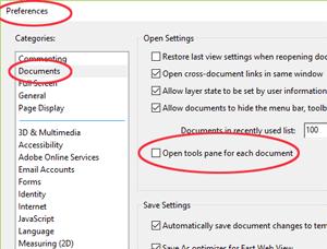 Adobe Acrobat Reader Preferences