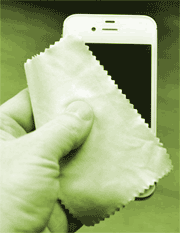 iPhone polishing