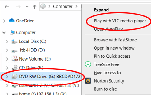 Open a DVD With VLC