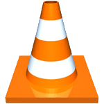VLC icon of traffic cone