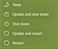 Windows - install updates