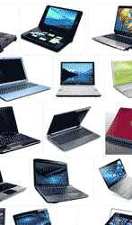 More laptops