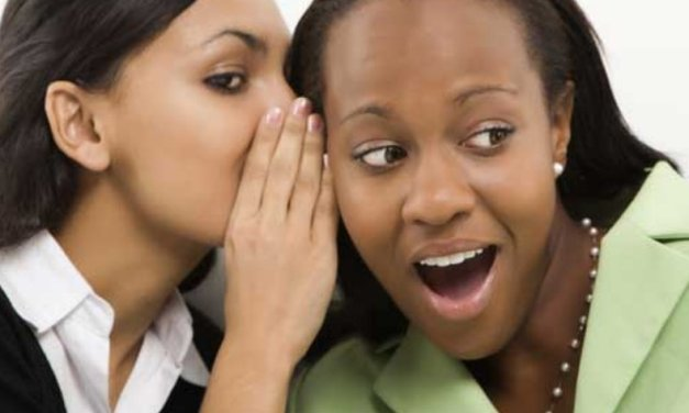 How Gossiping is a Sin of Objectifaction