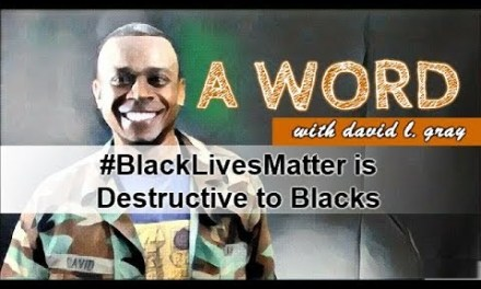 #BlackLivesMatter is Destructive to Blacks