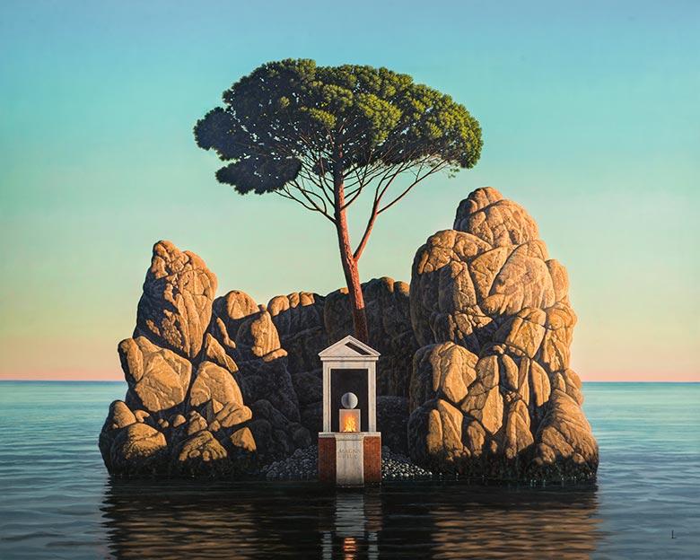 David Ligare PostModern NeoClassic American Artist
