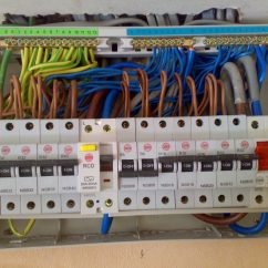 Rcbo Wiring Diagram Generac Whole House Transfer Switch Consumer Units David Love Property