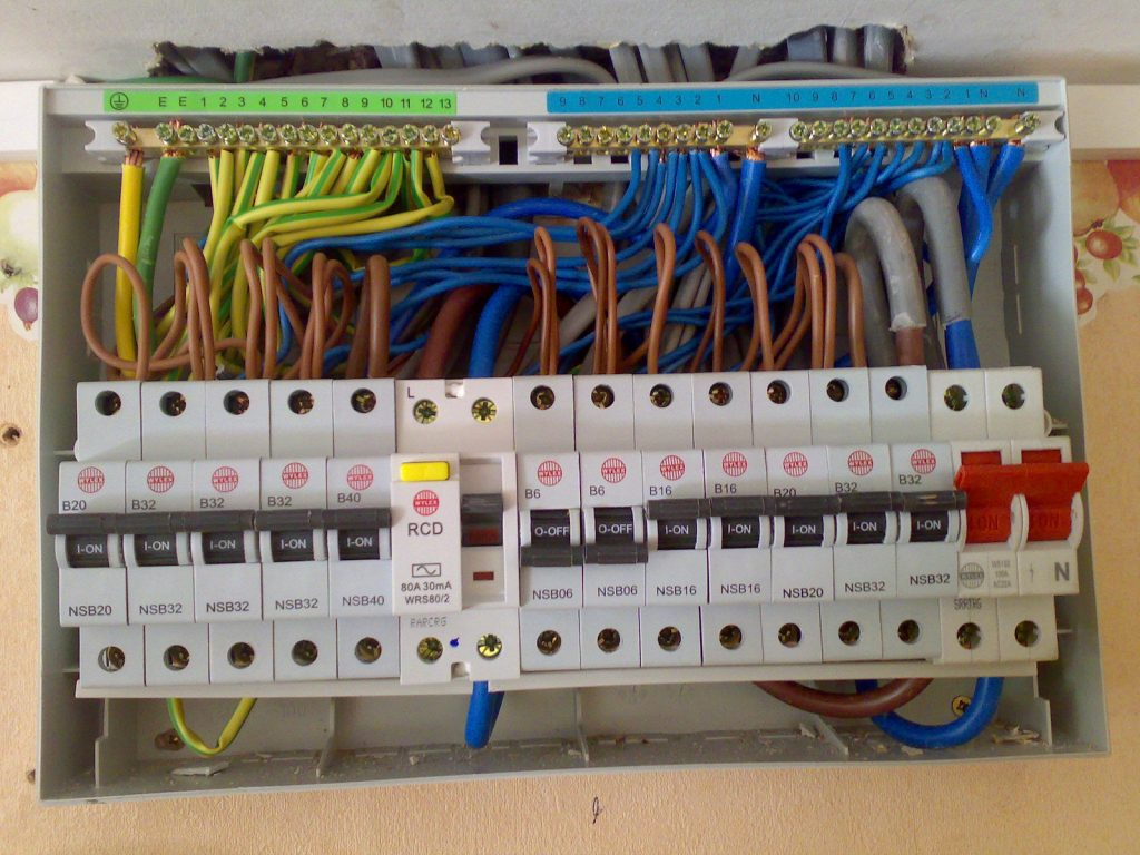 rcbo wiring diagram block of computer system consumer units david love property