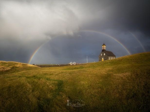 arco iris iglesia luminar sin casa