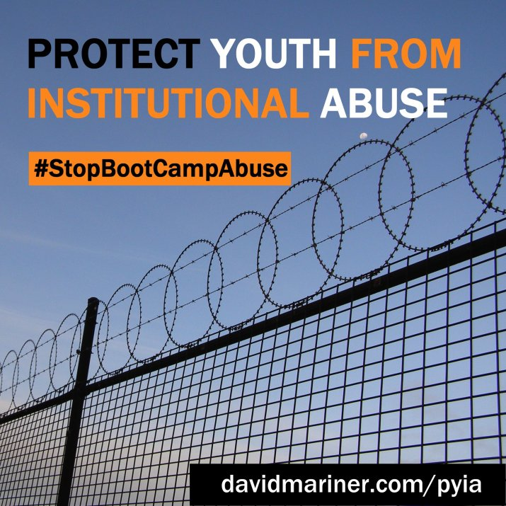 Protect Youth from Institutional Abuse