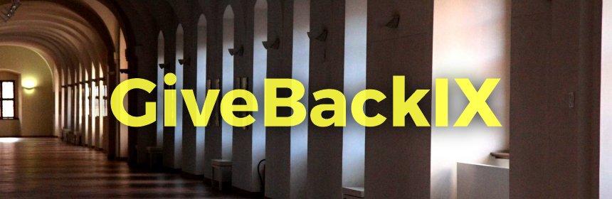 #GiveBackIX