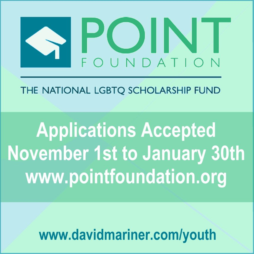 Apply for a Point Foundation Scholarship