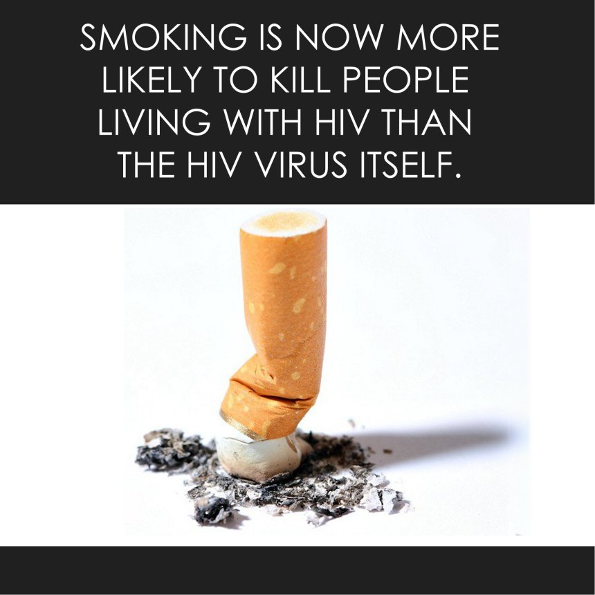 Tobacco kills more HIV-positive D.C. residents than AIDS