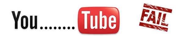 Fallo en Youtube lo mantiene offline durante varios minutos