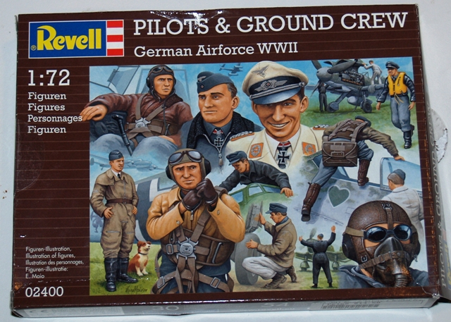 German pilots and groundcrew