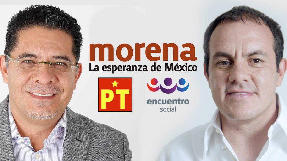 Distribuyen Morena, PES y PT candidaturas en Oaxaca