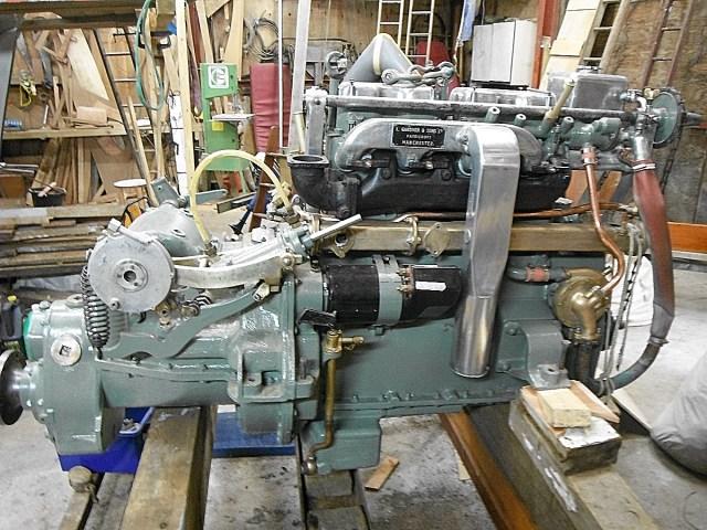 Gardner 4LW Marine Engine