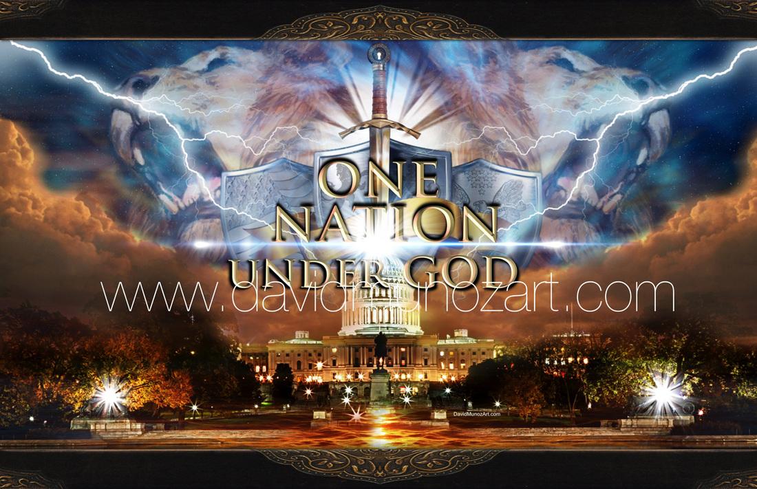 One Nation Under God  David Munoz Art