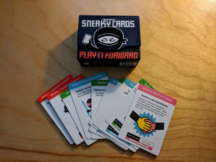 Sneaky Cards to engage with people at conferences