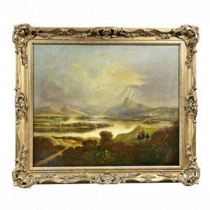 Scottish Landscape Oil on Canvas Painting.